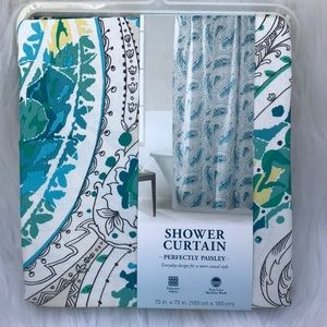 Other - Paisley shower curtain